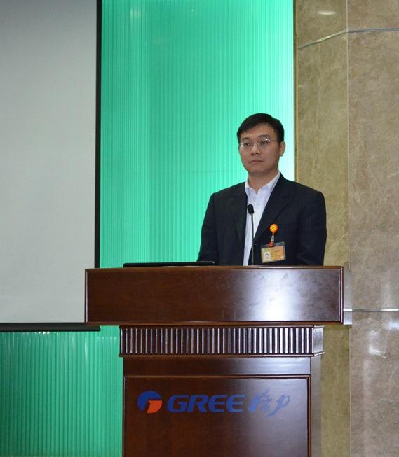 Chen Shaolin, Overseas Sales Director di Gree: «Attualmente la nostra sfida maggiore sul mercato italiano è mantenere rapporti di collaborazione con clienti OEM e al contempo aumentare il volume di vendite e la quota di mercato di Gree».