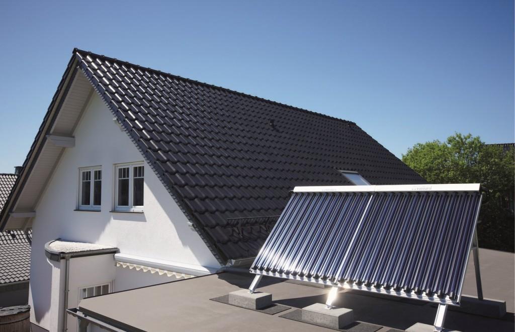 Soluzione Vaillant integrata ai sistemi solari termici, 1997.