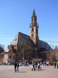 Caldaia a pellet nel Duomo di Bolzano