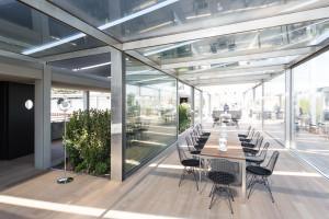 Daikin Italy è sponsor tecnico del progetto del nuovo ristorante Terrazza Triennale a Milano.