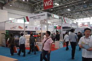 Il padiglione italiano a ISH China & CIHE 2015.