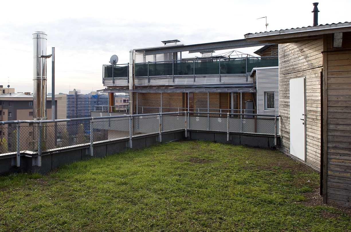 Giardino sul tetto bene per ambiente e portafogli rci - Giardino sul tetto ...