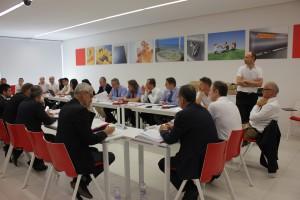 Il management della casa madre Immergas insieme ai Managing Director delle filiali estere.