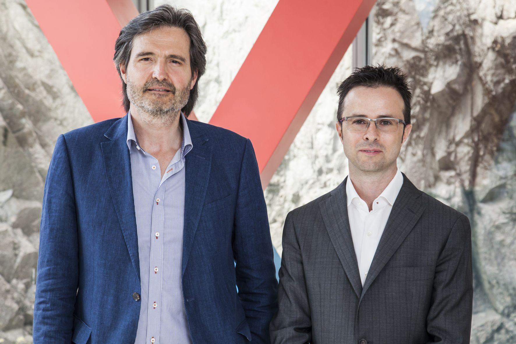 Alberto Morelli (a sinistra) e Massimo Fabricatore, rispettivamente Amministratore Delegato e Direttore Generale di LOEX.
