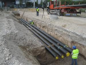 E' stato avviato il progetto Flexinets dell'Istituto per le Energie Rinnovabili dell'Eurac di Bolzano  per la realizzazione di reti di teleriscaldamento e teleraffreddamento alimentate a temperatura ambiente.