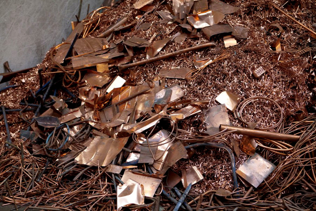 I metalli non ferrosi, specialmente il rame, costituiscono la parte di maggior valore economico tra i materiali recuperabili dai condizionatori d'aria.