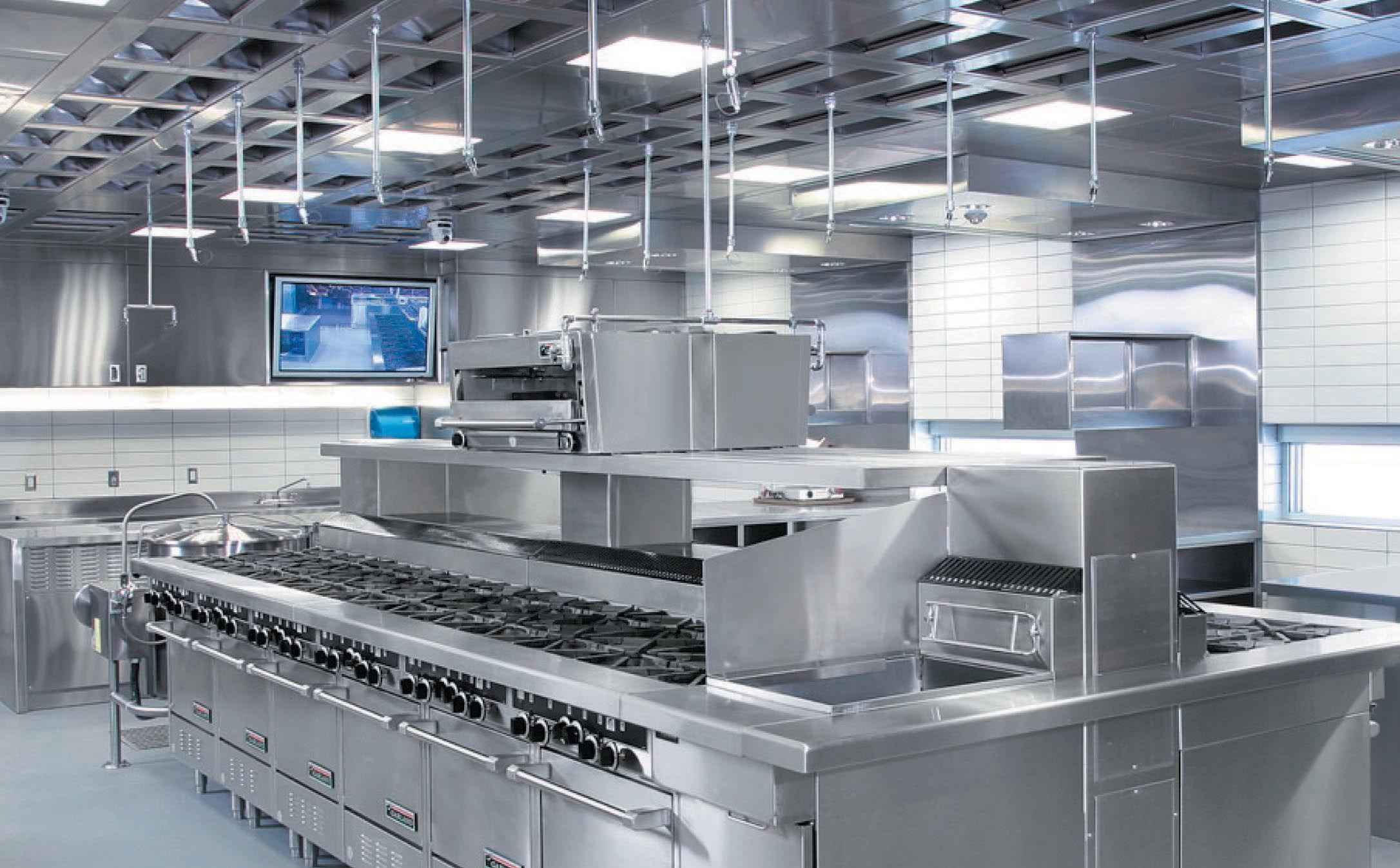 impianto di ventilazione delle cucine professionali