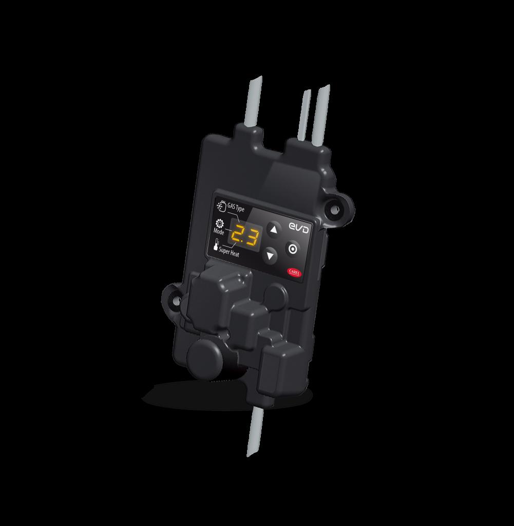 Centralina di controllo precablata, realizzata con materiali speciali adatti anche alle più basse temperature.
