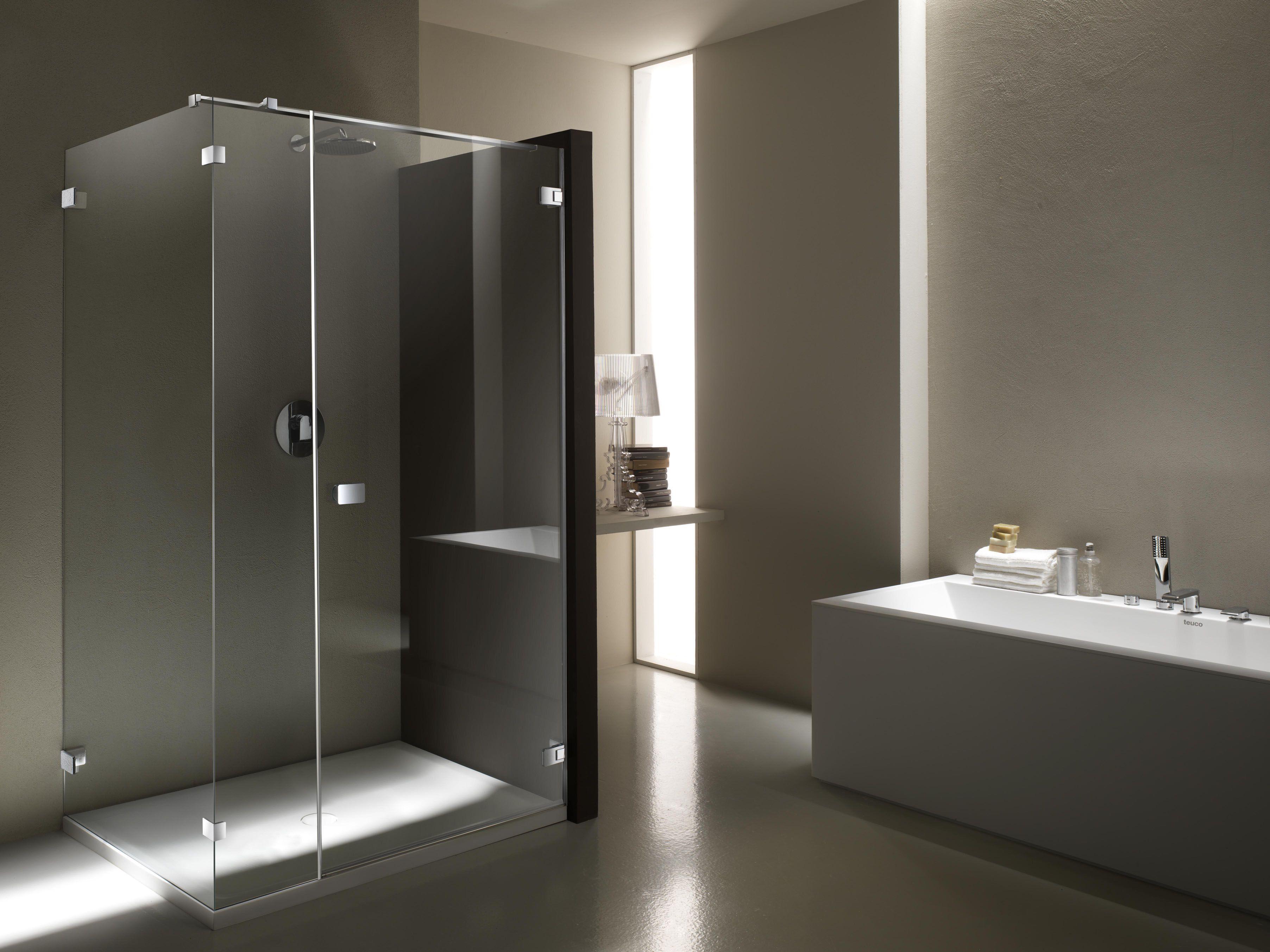 Cabine doccia senza telaio rci riscaldamento - Doccia senza porta ...