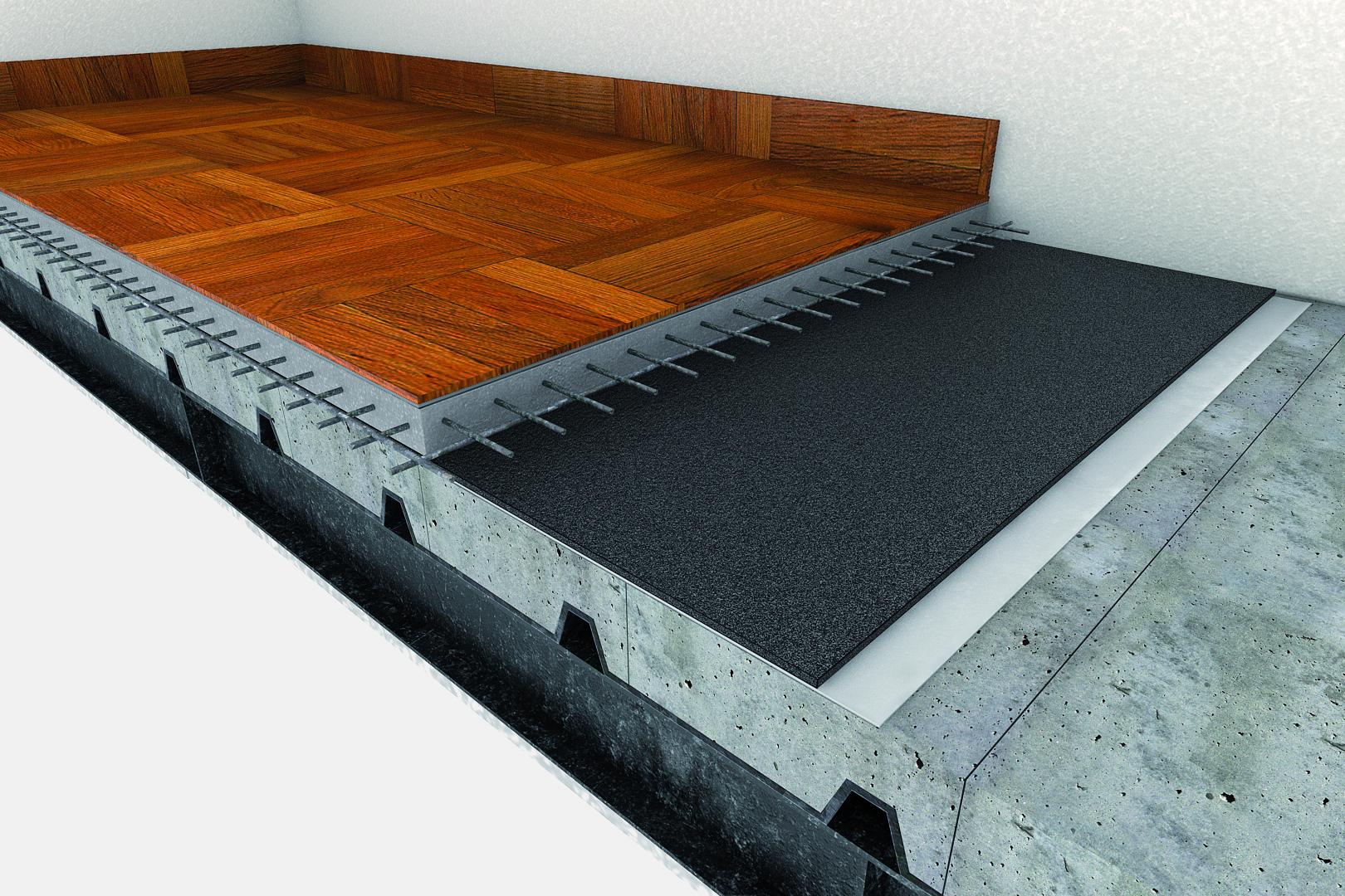 Pavimenti Galleggianti Spessori : Tappetini acustici per pavimenti rci u2013 riscaldamento
