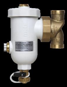 I defangatori serie DF in tecnopolimero composito con magnete vengono utilizzati per eliminare in modo continuo le impurità contenute nei circuiti idraulici.