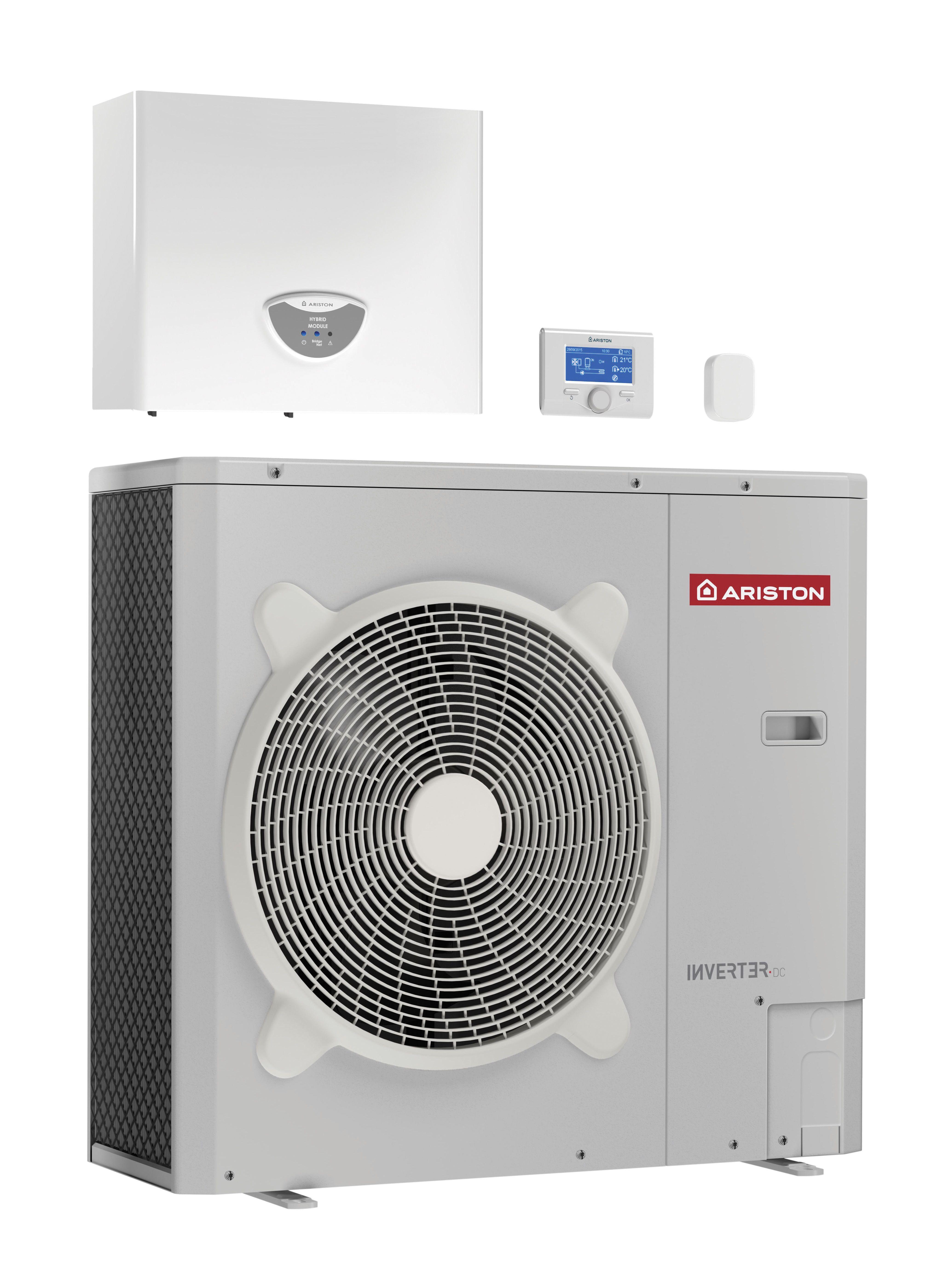 Sistema a pompa di calore aria acqua nimbus hybrid universal for Costo pompa di calore aria acqua