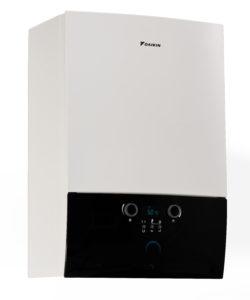 La ultra compatta Pretherma W 24 ha prestazioni in condensazione in classe di efficienza energetica A sia in riscaldamento che in produzione di acqua calda sanitaria, raggiungendo un'efficienza puntuale fino al 108%.