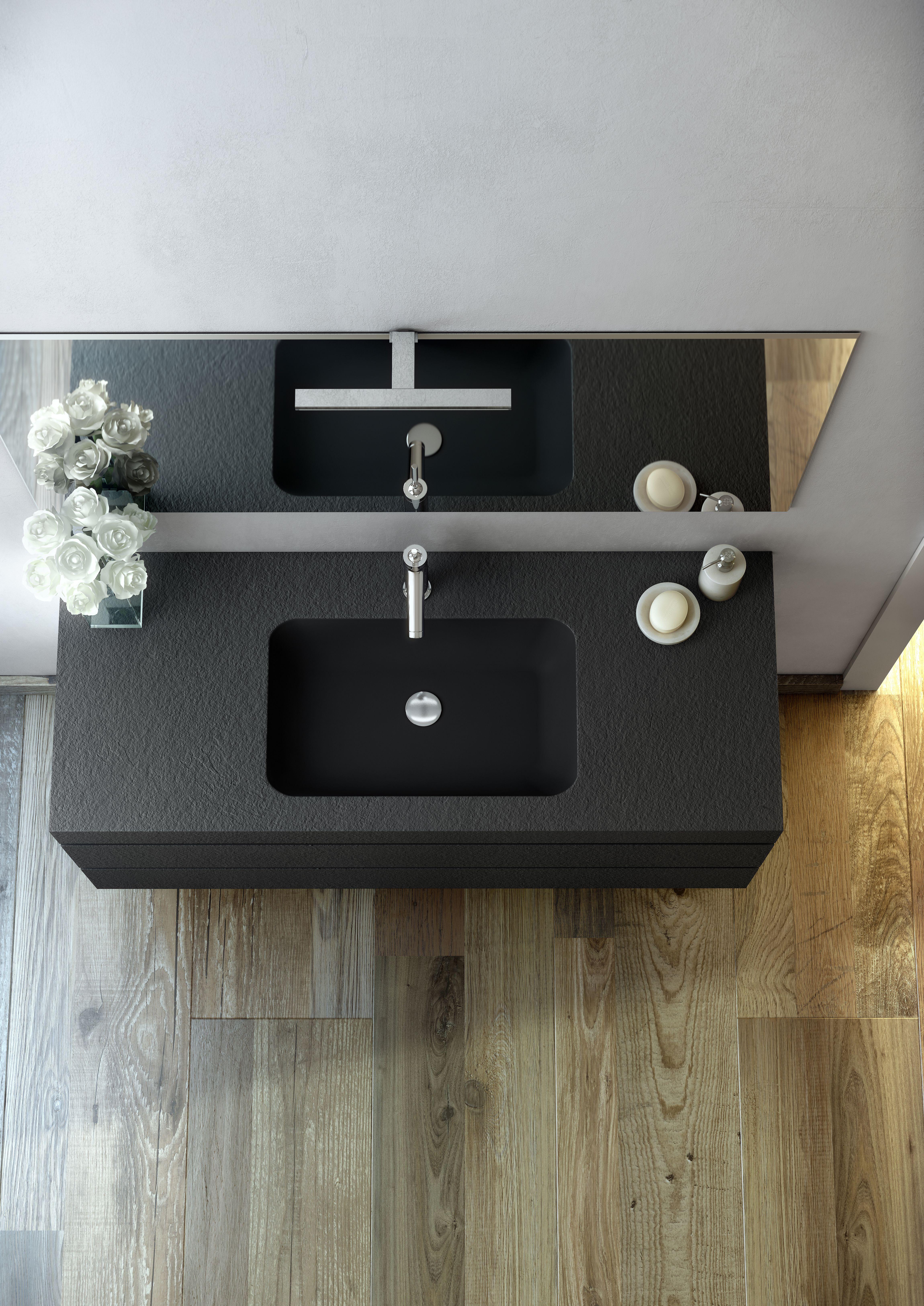 Mobili da bagno con lavabo integrato resistente agli urti - Mobili da bagno con lavabo ...