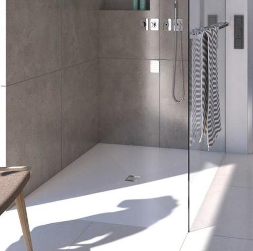 Piatto doccia filo pavimento in 6 mm robusto e impermeabile rci riscaldamento - Piatto doccia pavimento ...
