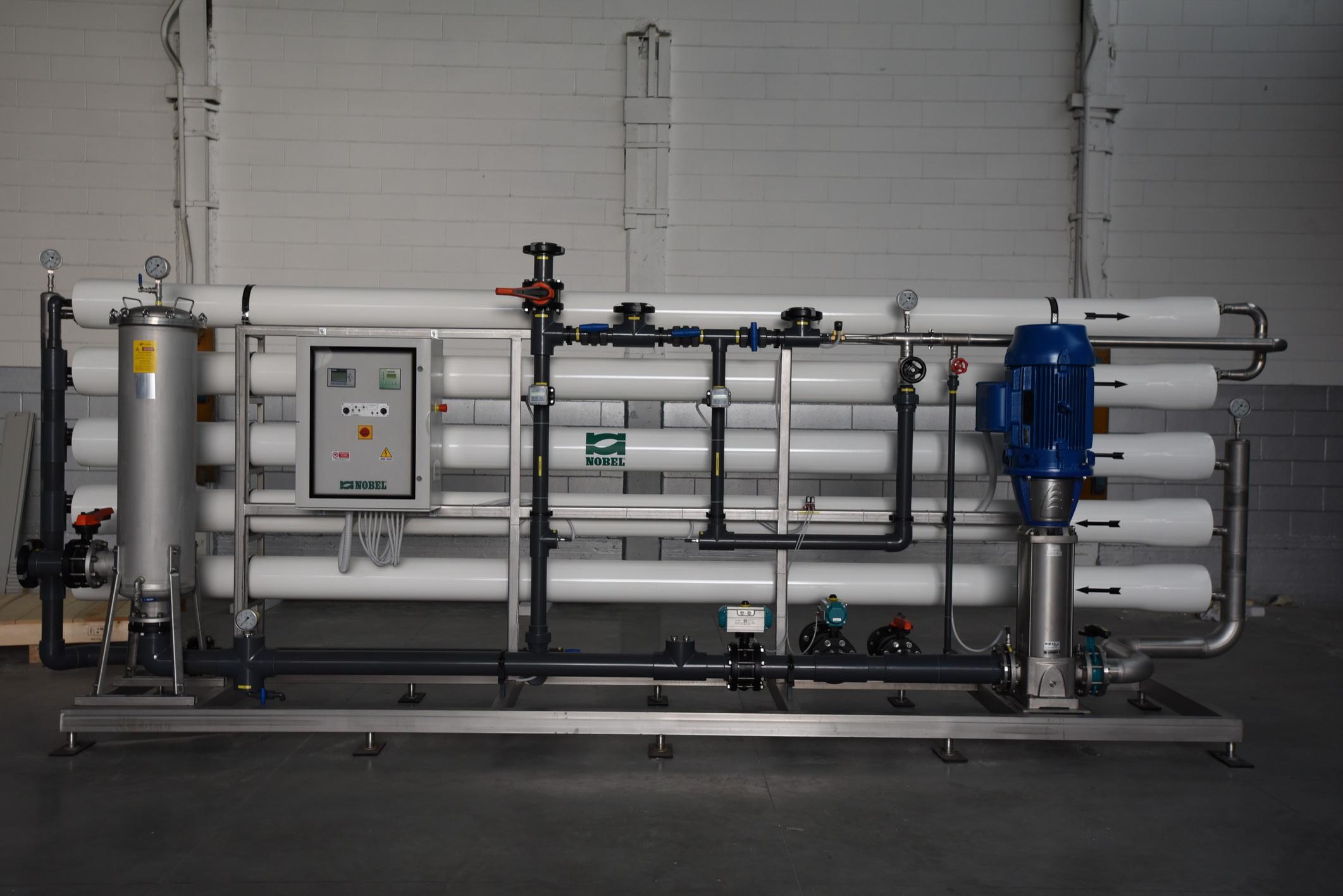 Impianto di trattamento per acqua di pozzo da Nobel srl