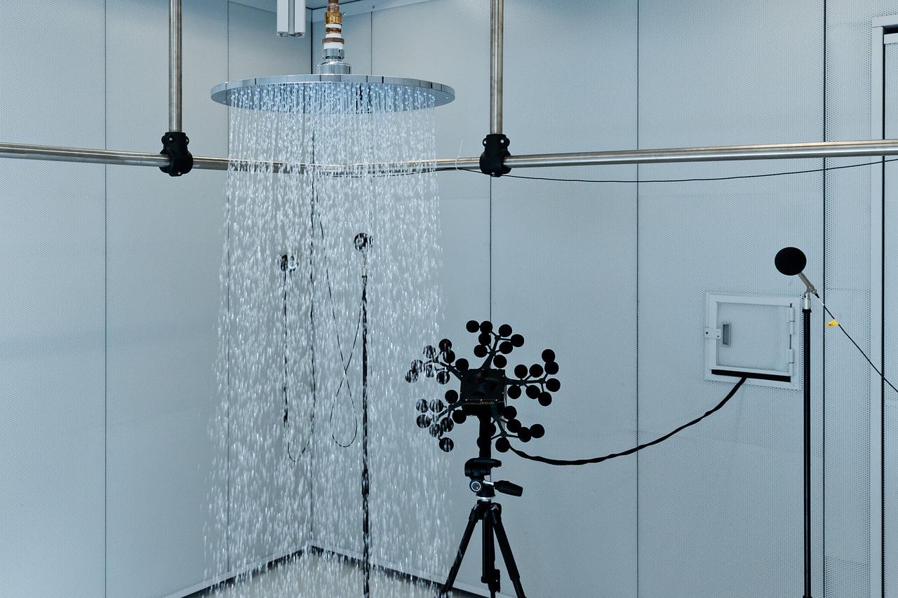 Hansgrohe il suono perfetto dell acqua che scorre da un soffione