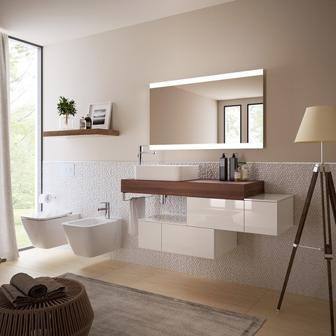 Sistemi completi per bagni residenziali e ospitalit di - Bagni completi in offerta ...