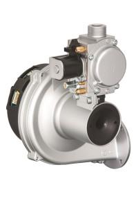 Il nuovo sistema completo per caldaie a condensazione che comprende ventilatore premix, miscelatore, valvola gas ed elettronica di controllo.