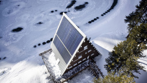 """Geberit ha curato gli impianti di adduzione idrica e di scarico nonché i sistemi di riscaldamento del """"Rifugio Carlo Mollino"""" a Gressoney St. Jean in Valle d'Aosta."""