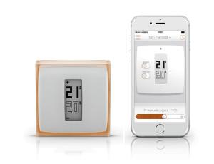 NetAtmo è un termostato di ultima generazione sviluppato in Francia già nel 2011, dal design minimalista e raffinato.