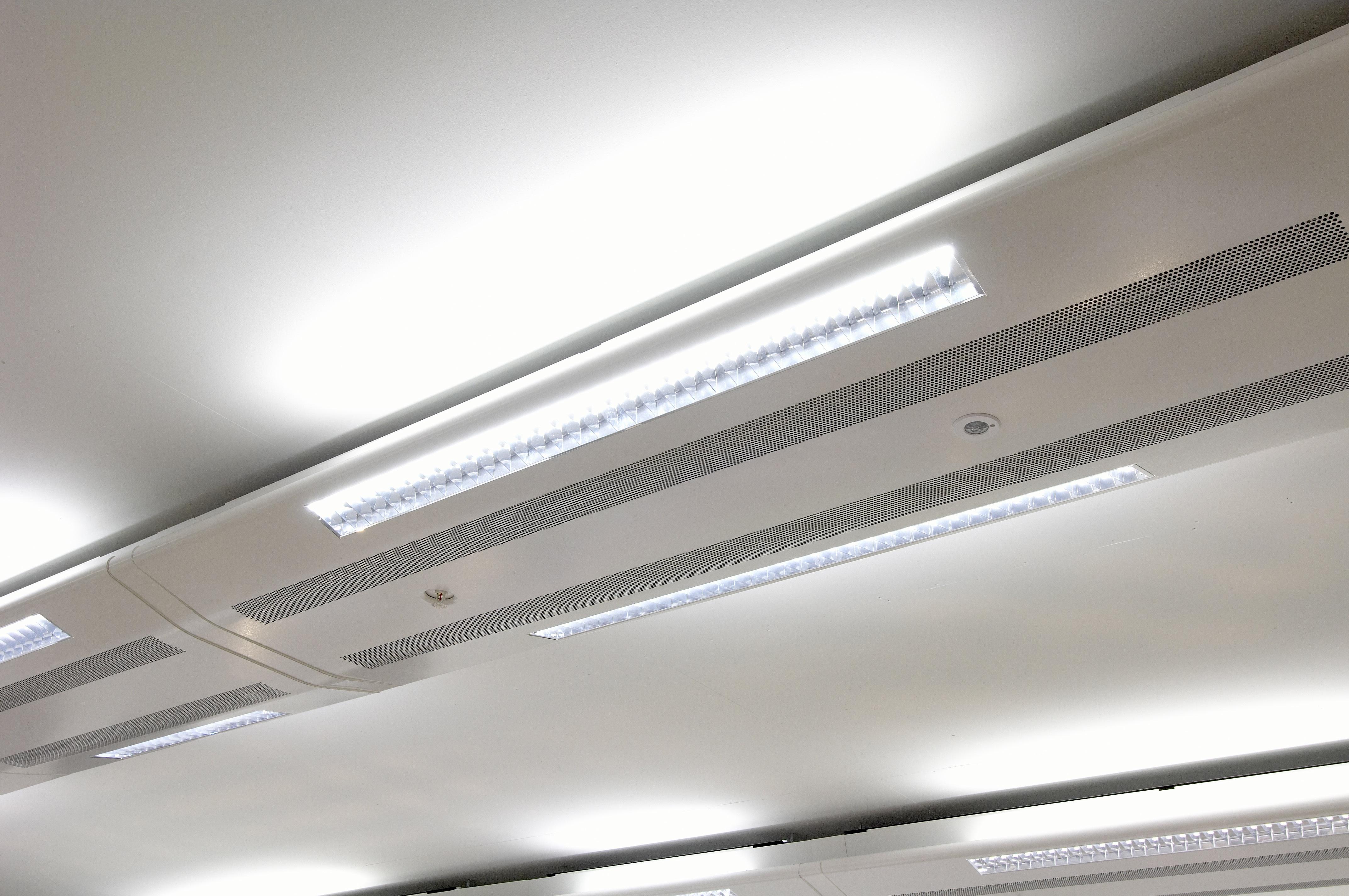 Impianti per solai a vista rci u riscaldamento climatizzazione
