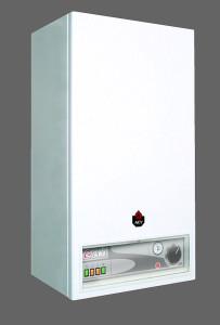 La caldaia elettrica esteticamente è simile ad una normale caldaia murale a gas, con la differenza che non necessita di camino e di aperture di aerazione (ACV).