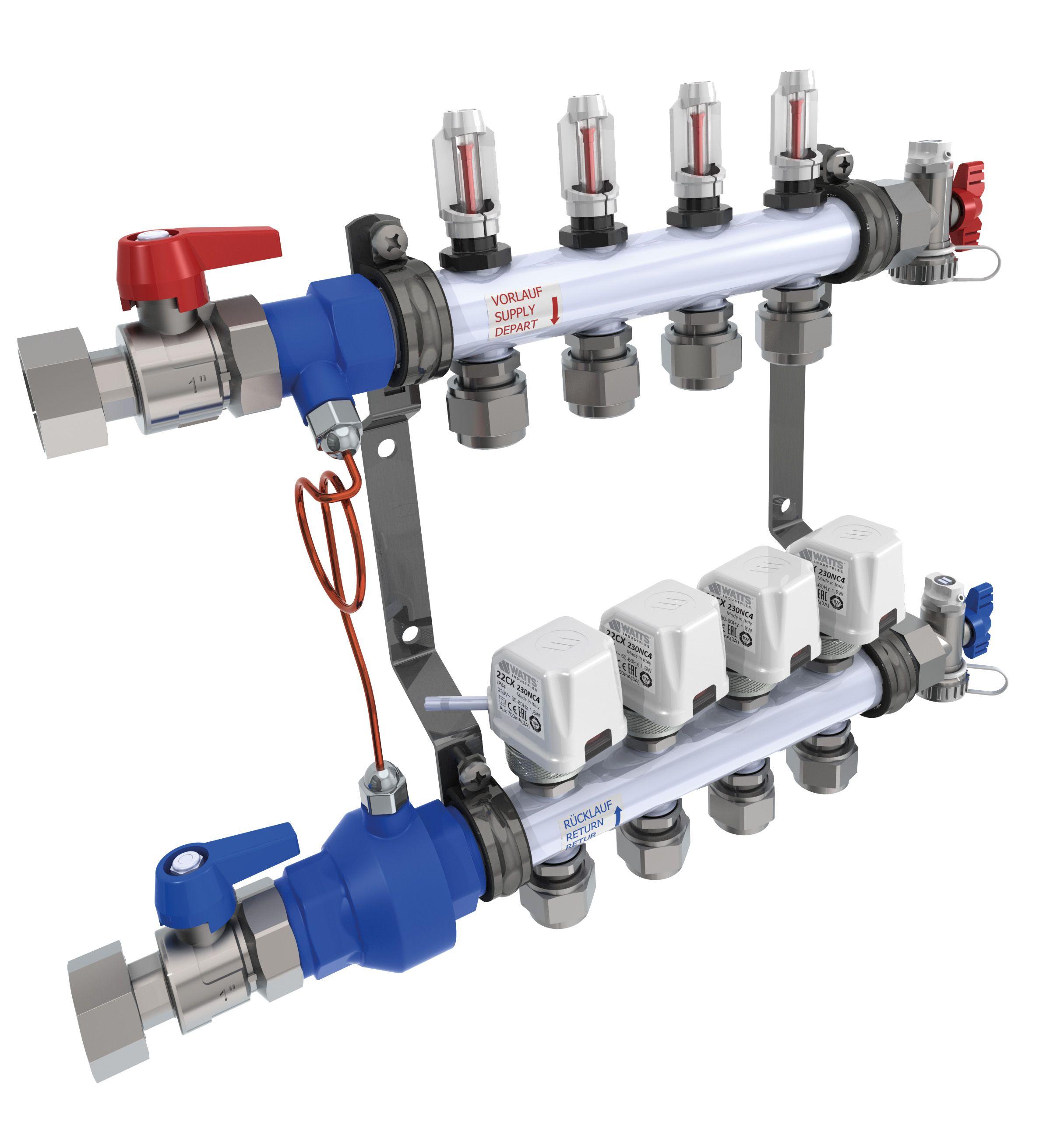 Ottimizzare Riscaldamento A Pavimento sistema per il bilanciamento idraulico nel riscaldamento a