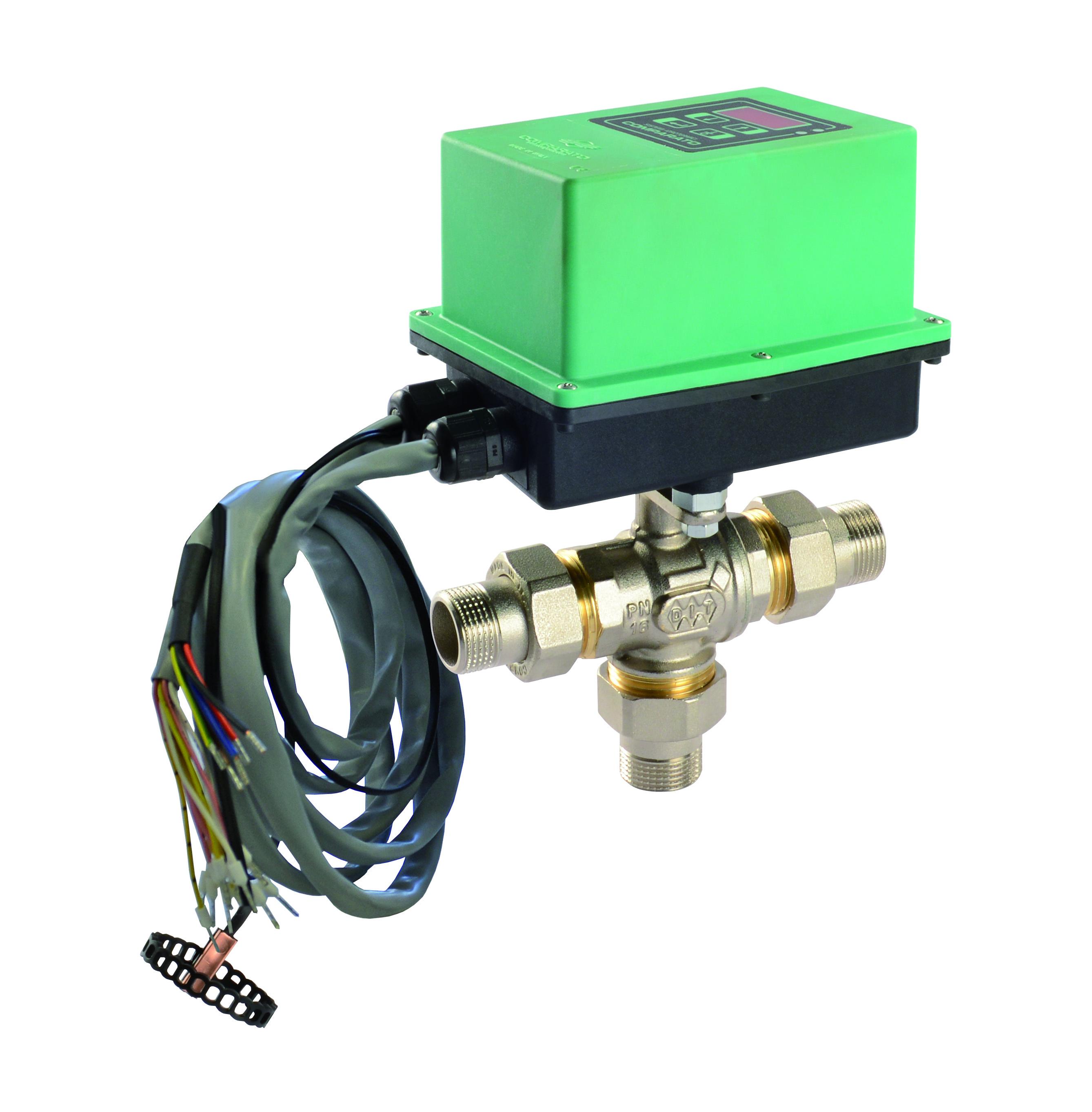 Temperatura Mandata Impianto A Pavimento valvole motorizzate elettroniche per pannelli radianti - rci