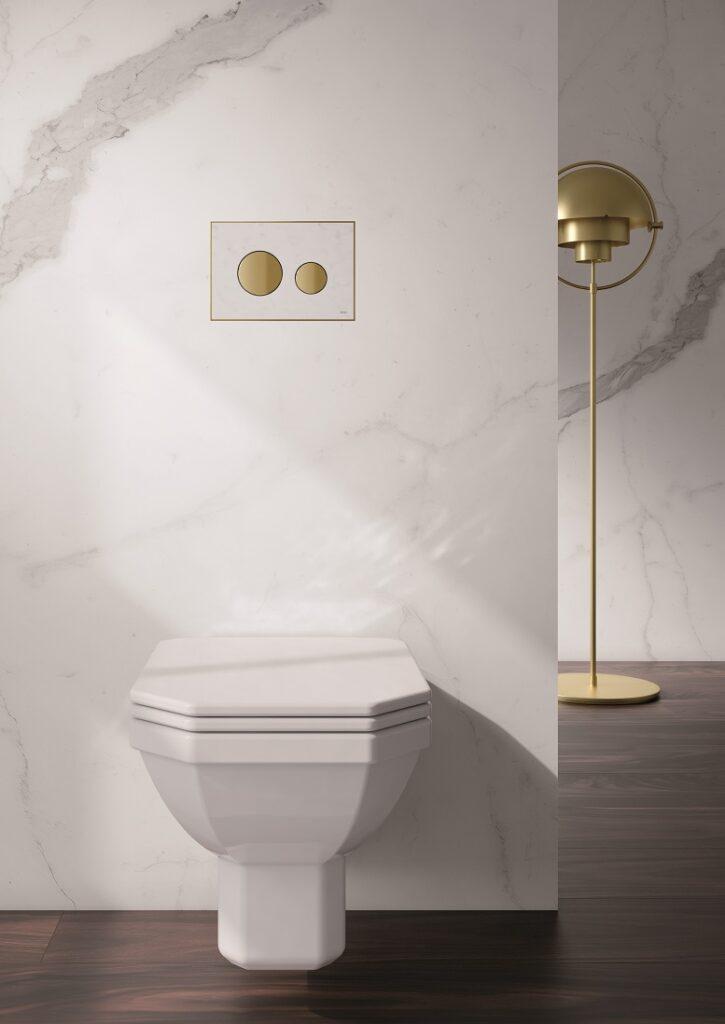 Placca di azionamento WC